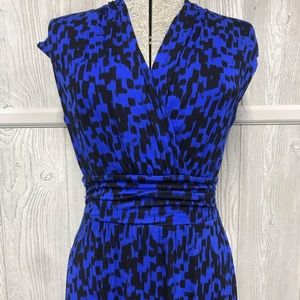 Black Blue High Low Maxi APT.9 Dress Size XS NWOT
